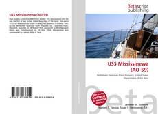 Capa do livro de USS Mississinewa (AO-59)