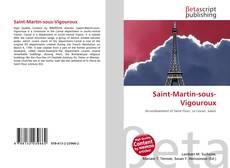 Portada del libro de Saint-Martin-sous-Vigouroux