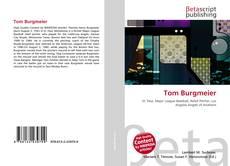Borítókép a  Tom Burgmeier - hoz