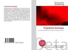Обложка Prapaksha Kamboja