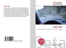 Capa do livro de Aisin AW