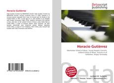 Bookcover of Horacio Gutiérrez