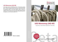 Bookcover of USS Monomoy (AG-40)