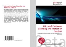 Couverture de Microsoft Software Licensing and Protection Services