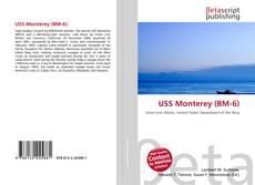 Portada del libro de USS Monterey (BM-6)