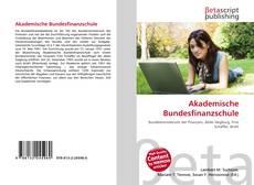 Portada del libro de Akademische Bundesfinanzschule