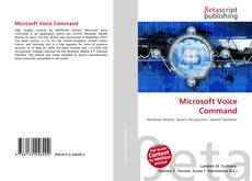 Bookcover of Microsoft Voice Command