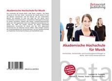 Portada del libro de Akademische Hochschule für Musik