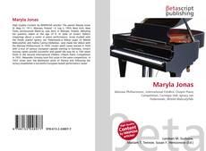 Maryla Jonas kitap kapağı