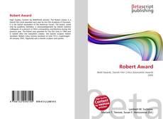 Bookcover of Robert Award
