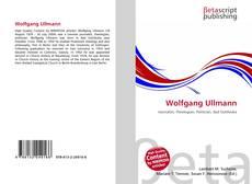 Buchcover von Wolfgang Ullmann