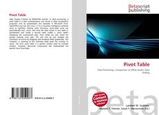Bookcover of Pivot Table