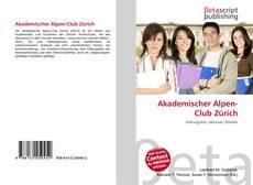 Akademischer Alpen-Club Zürich kitap kapağı