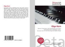 Olga Kern的封面