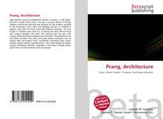 Couverture de Prang, Architecture