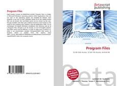 Program Files kitap kapağı