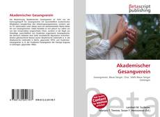 Обложка Akademischer Gesangverein