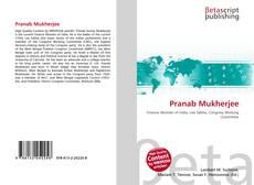 Pranab Mukherjee的封面