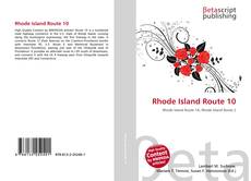 Bookcover of Rhode Island Route 10