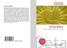 Bookcover of Pranav Mistry