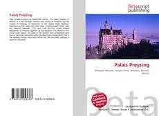 Обложка Palais Preysing