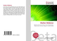Bookcover of Walter Midener