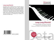 Portada del libro de Lang Lang (Pianist)