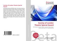 Bookcover of Society of London Theatre Special Award