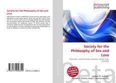 Borítókép a  Society for the Philosophy of Sex and Love - hoz