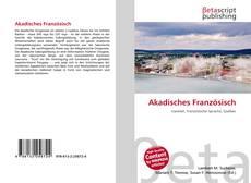 Couverture de Akadisches Französisch