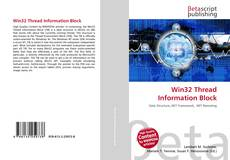 Bookcover of Win32 Thread Information Block