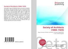 Capa do livro de Society of Architects (1884–1925)