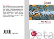 Akai Takami kitap kapağı