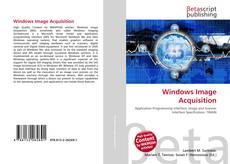 Bookcover of Windows Image Acquisition