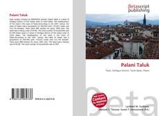 Bookcover of Palani Taluk
