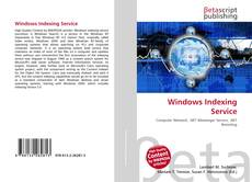Bookcover of Windows Indexing Service