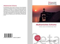 Bookcover of Akakianisches Schisma