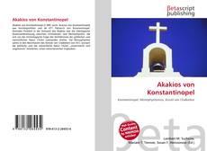 Bookcover of Akakios von Konstantinopel