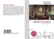 Buchcover von Akakios von Melitene