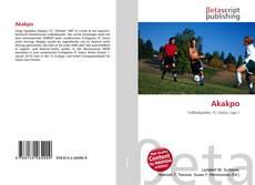 Capa do livro de Akakpo