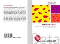 Yoshitomo Nara kitap kapağı