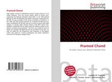 Portada del libro de Pramod Chand
