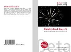 Bookcover of Rhode Island Route 5