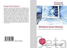 Bookcover of Windows Server Domain
