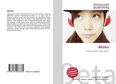 Capa do livro de Akalın