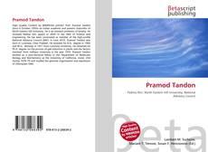 Bookcover of Pramod Tandon