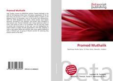 Bookcover of Pramod Muthalik