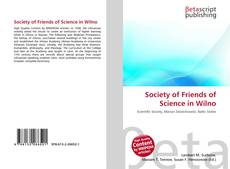 Copertina di Society of Friends of Science in Wilno