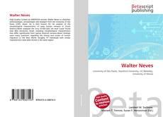 Capa do livro de Walter Neves