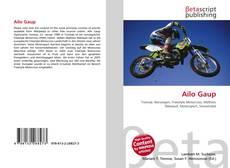 Buchcover von Ailo Gaup